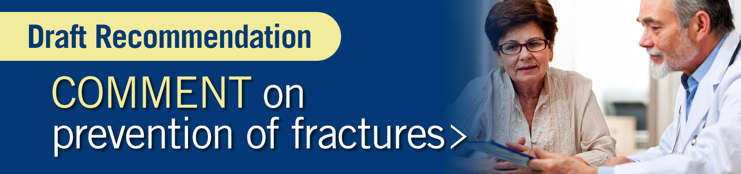 Comment on prevention of fractures