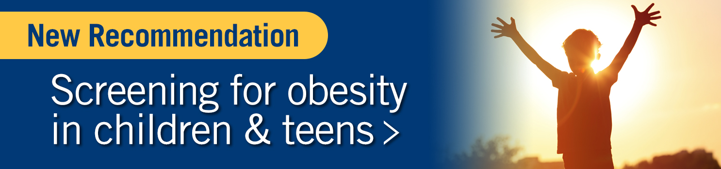 Screening for obesity in children and teens