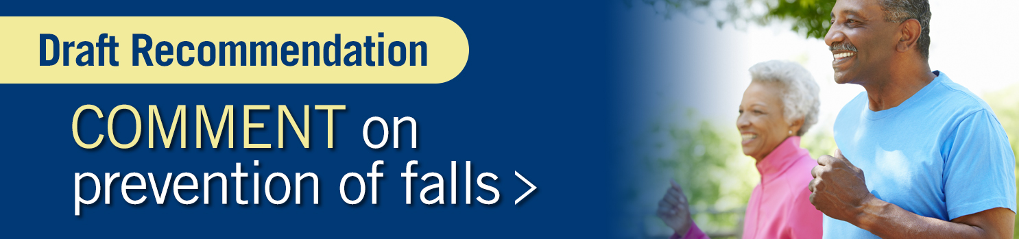 Comment on prevention of falls